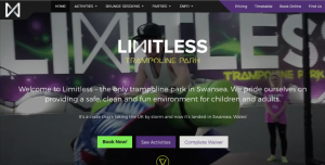 Limitless Trampoline Park. The best trampoline park in Swansea for fun and fitness.